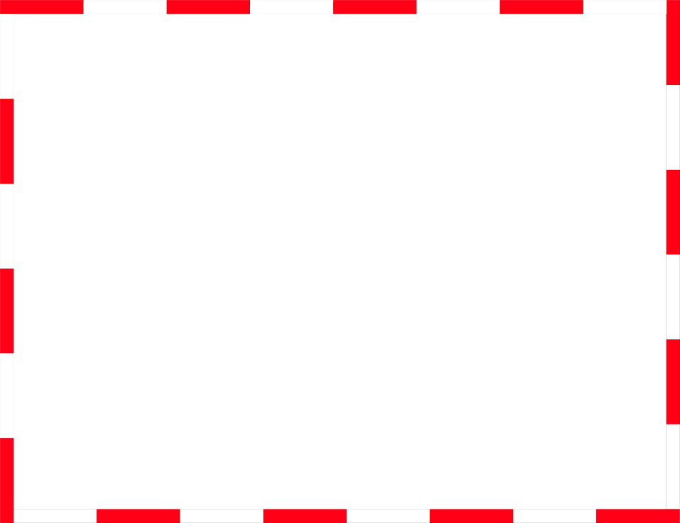 Illustration of a blank red and white frame border : Free Stock Photo