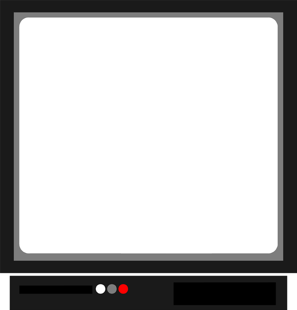 Illustration of a blank computer screen : Free Stock Photo