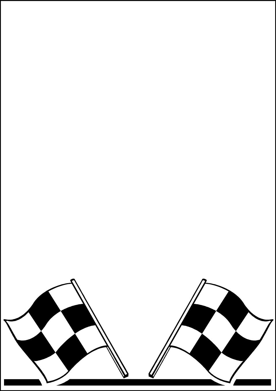 Flag Border Clip Art