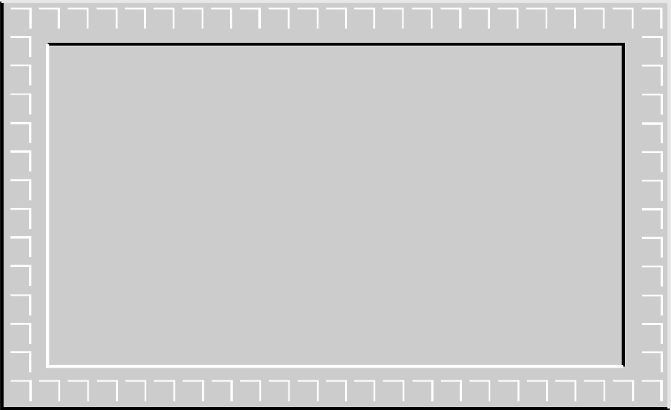 Illustration of a 3d gray blank frame border : Free Stock Photo