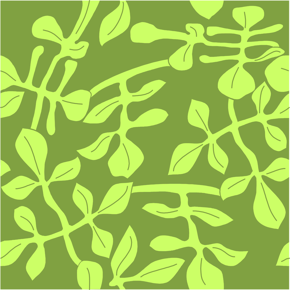 Illustration of a background with green leaves : Free Stock Photo