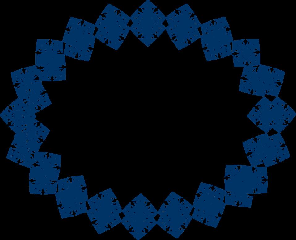star border clipart. Border Of Blue Star Shapes