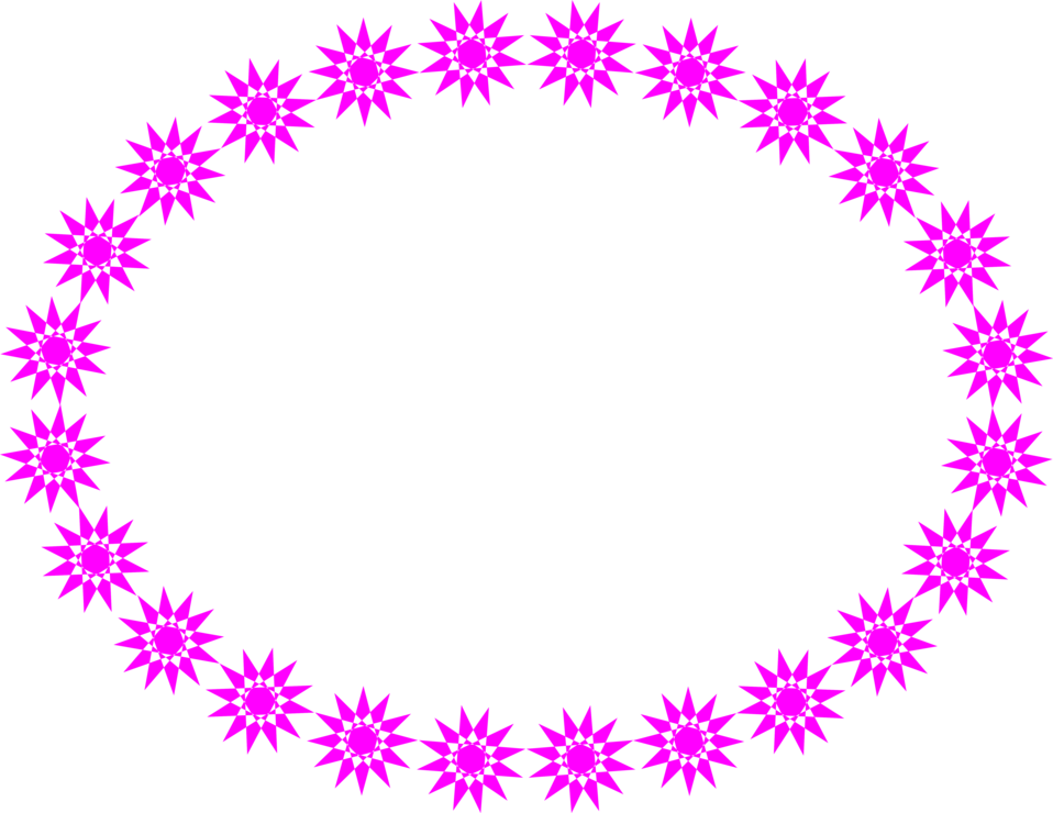 Illustration of a blank frame border with purple star shapes : Free Stock Photo