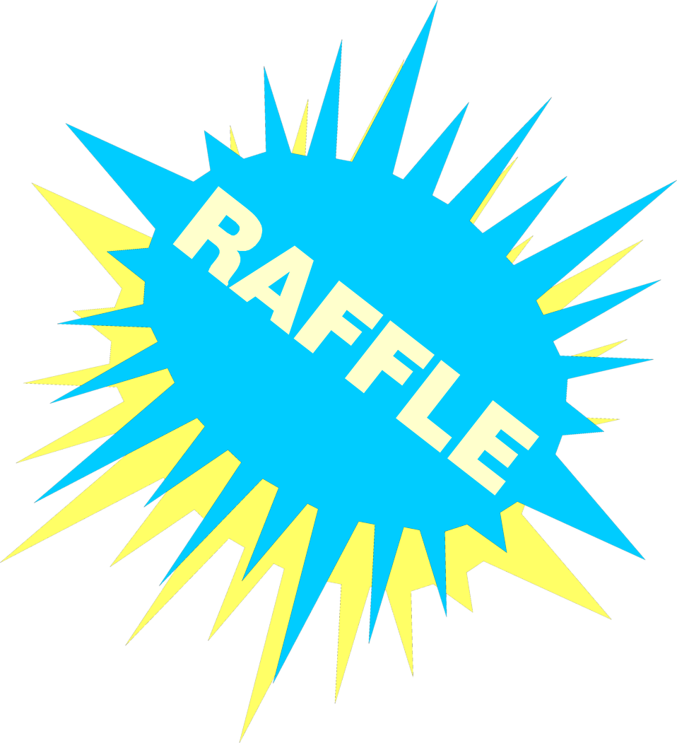 raffle sign designs related keywords suggestions raffle sign stock photo illustration of a blue and yellow raffle sign 639