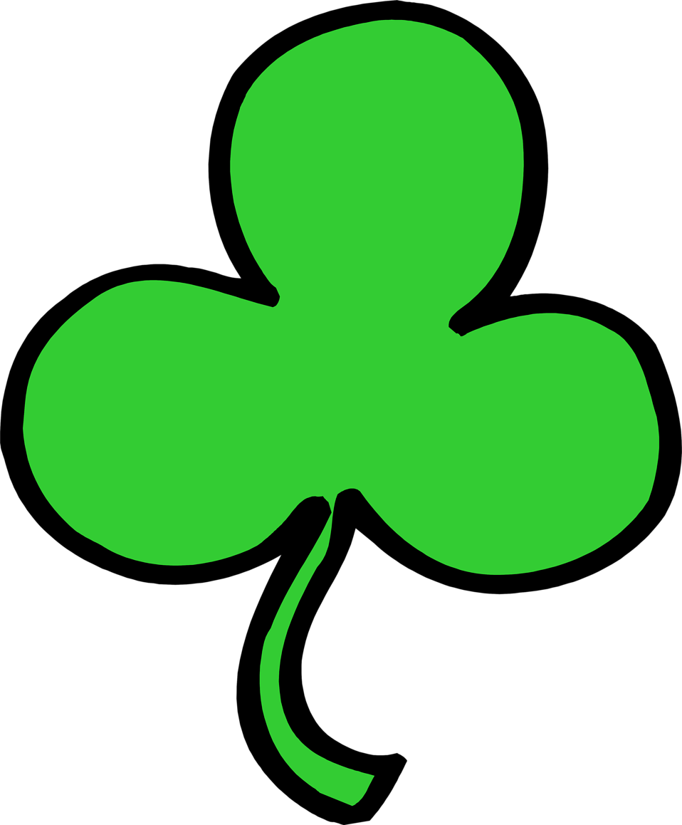 Illustration of a shamrock : Free Stock Photo