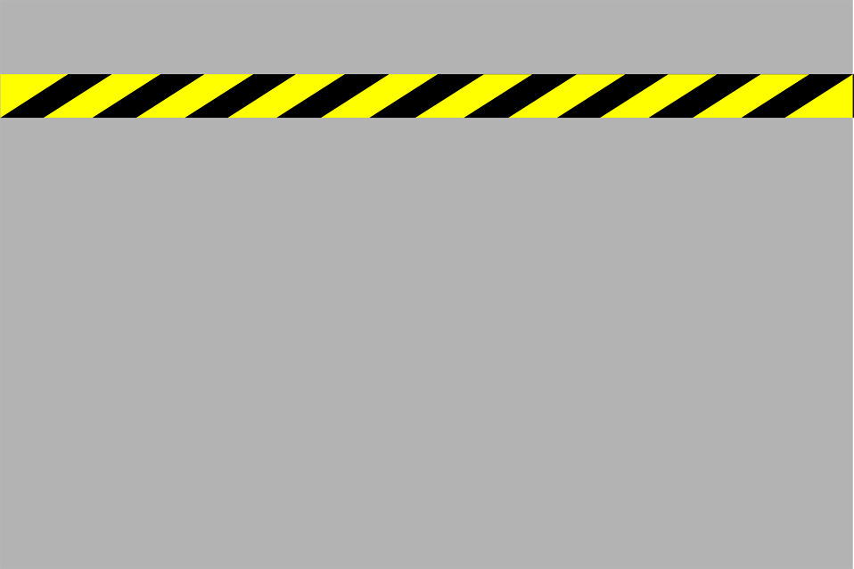 Illustration of a construction stripe on a gray background : Free Stock Photo