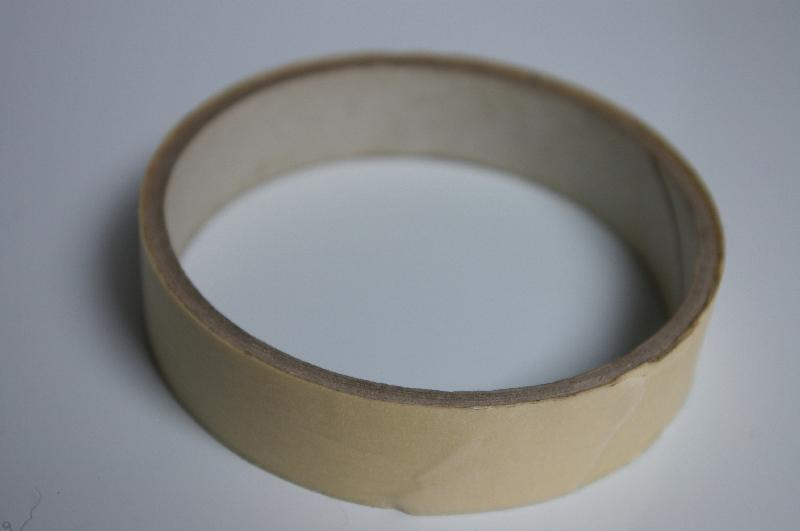 A roll of tape isolated on a white background : Free Stock Photo