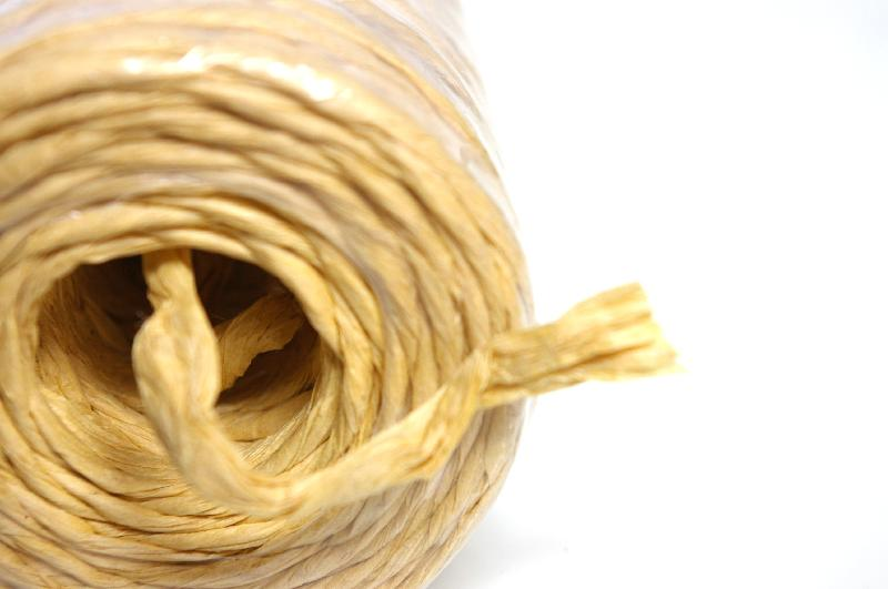 A roll of twine isolated on a white background : Free Stock Photo