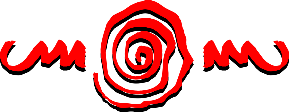 Illustration of an abstract red spiral design : Free Stock Photo