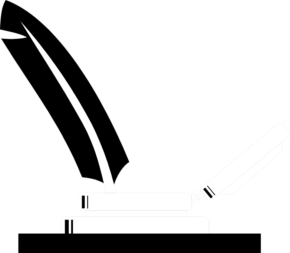 Illustration of a quill pen : Free Stock Photo