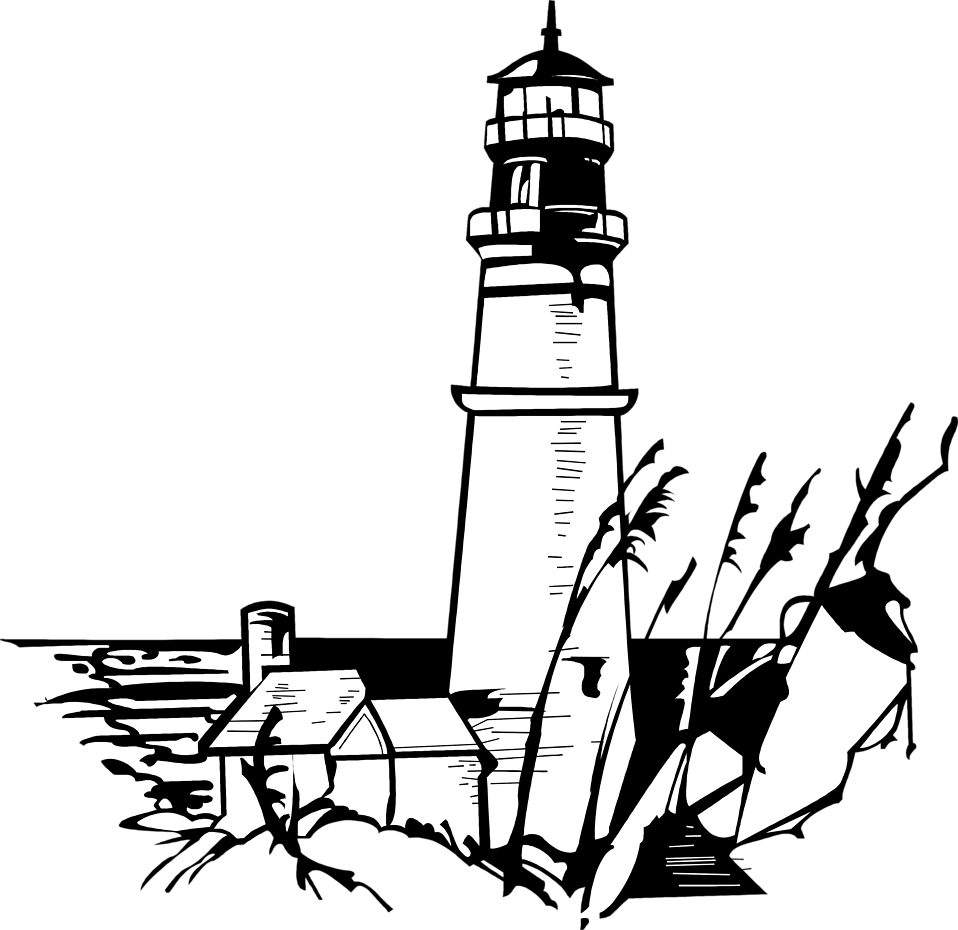 Illustration of a lighthouse : Free Stock Photo