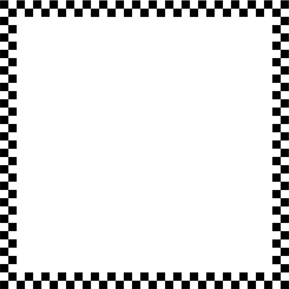 free black and white clip art borders - photo #4