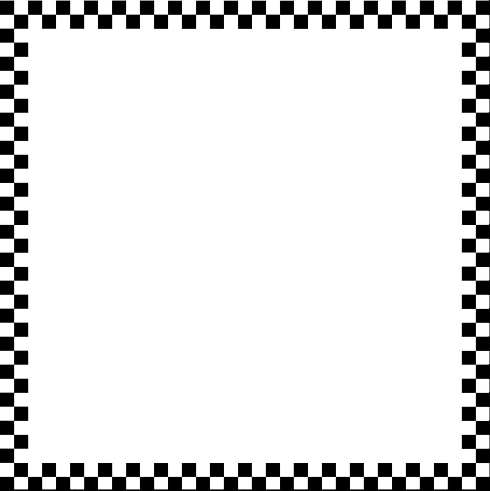 Illustration of a blank checkered frame border : Free Stock Photo