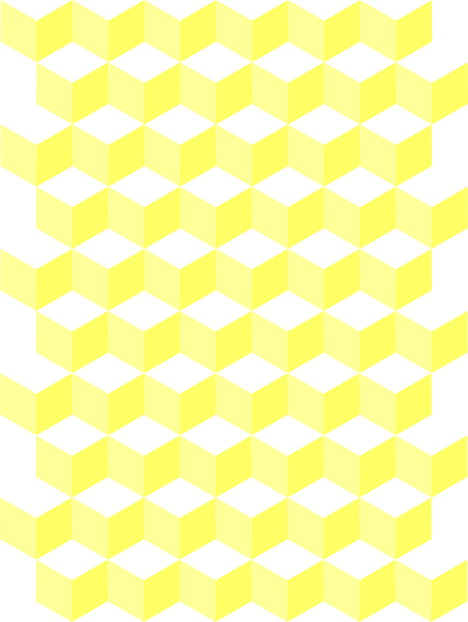 Illustration of yellow honeycomb background : Free Stock Photo