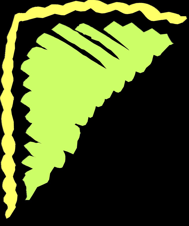 Illustration of an upper left frame corner : Free Stock Photo