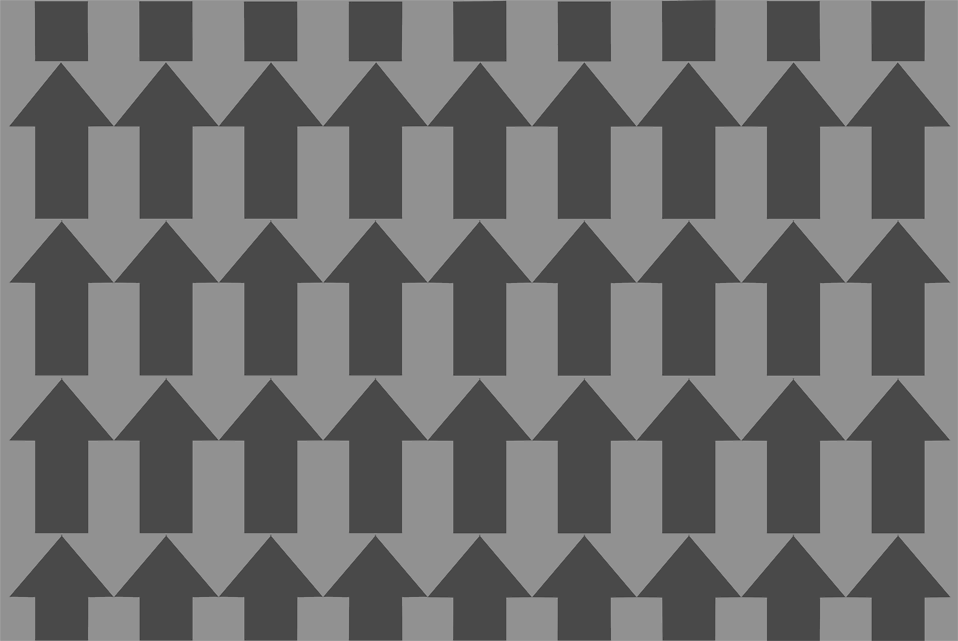 Illustration of gray up arrows : Free Stock Photo