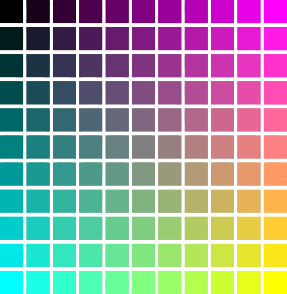 Illustration of a color gradient background : Free Stock Photo