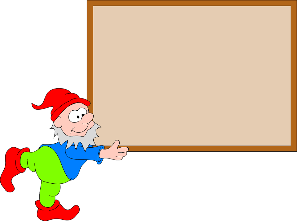 Illustration of a Christmas elf carrying a large blank box : Free Stock Photo