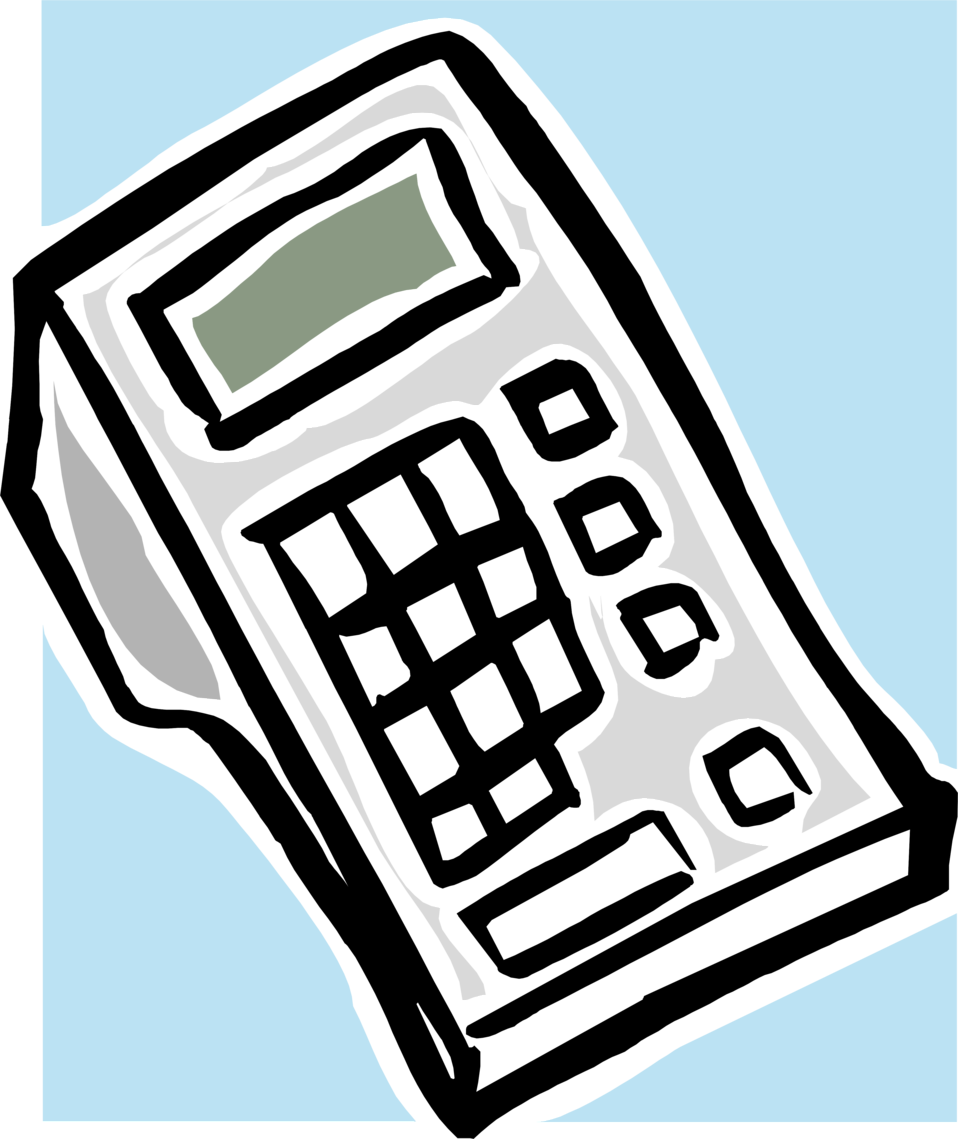 Illustration of a calculator : Free Stock Photo
