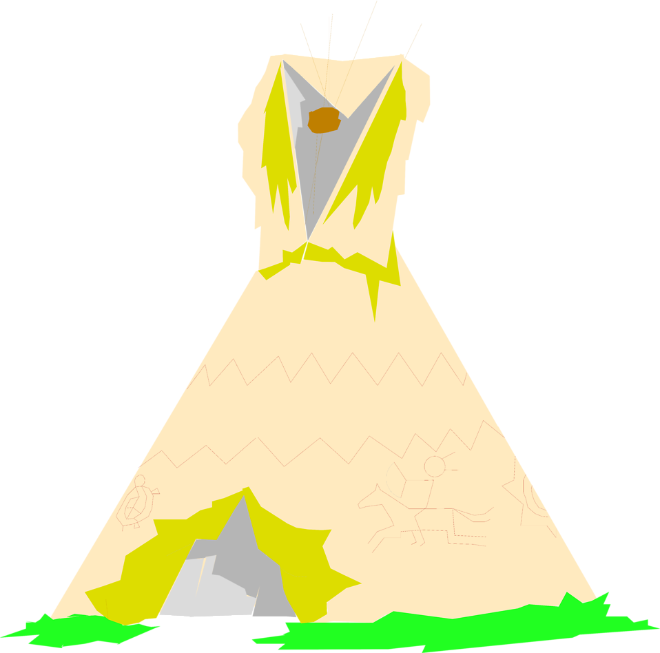 Illustration of a teepee : Free Stock Photo