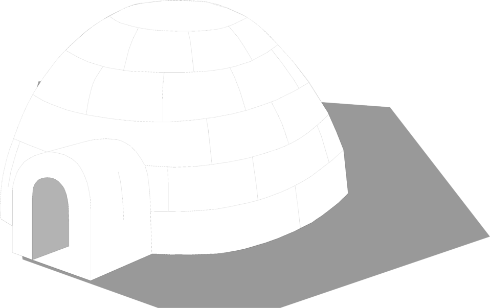 Illustration of an igloo : Free Stock Photo