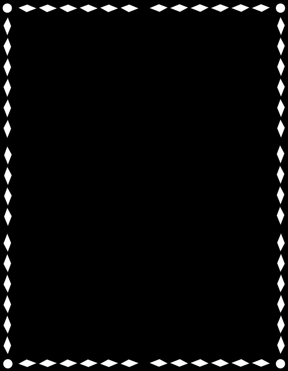Border | Free Stock Photo | Illustration of a blank black frame border ...