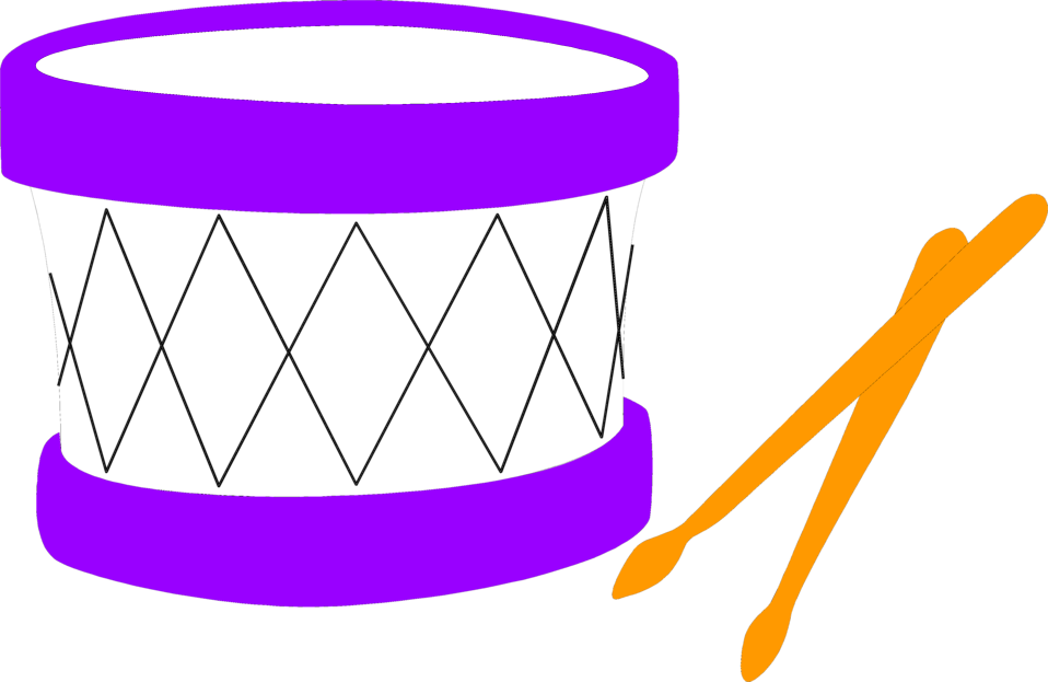 Illustration of a toy drum : Free Stock Photo