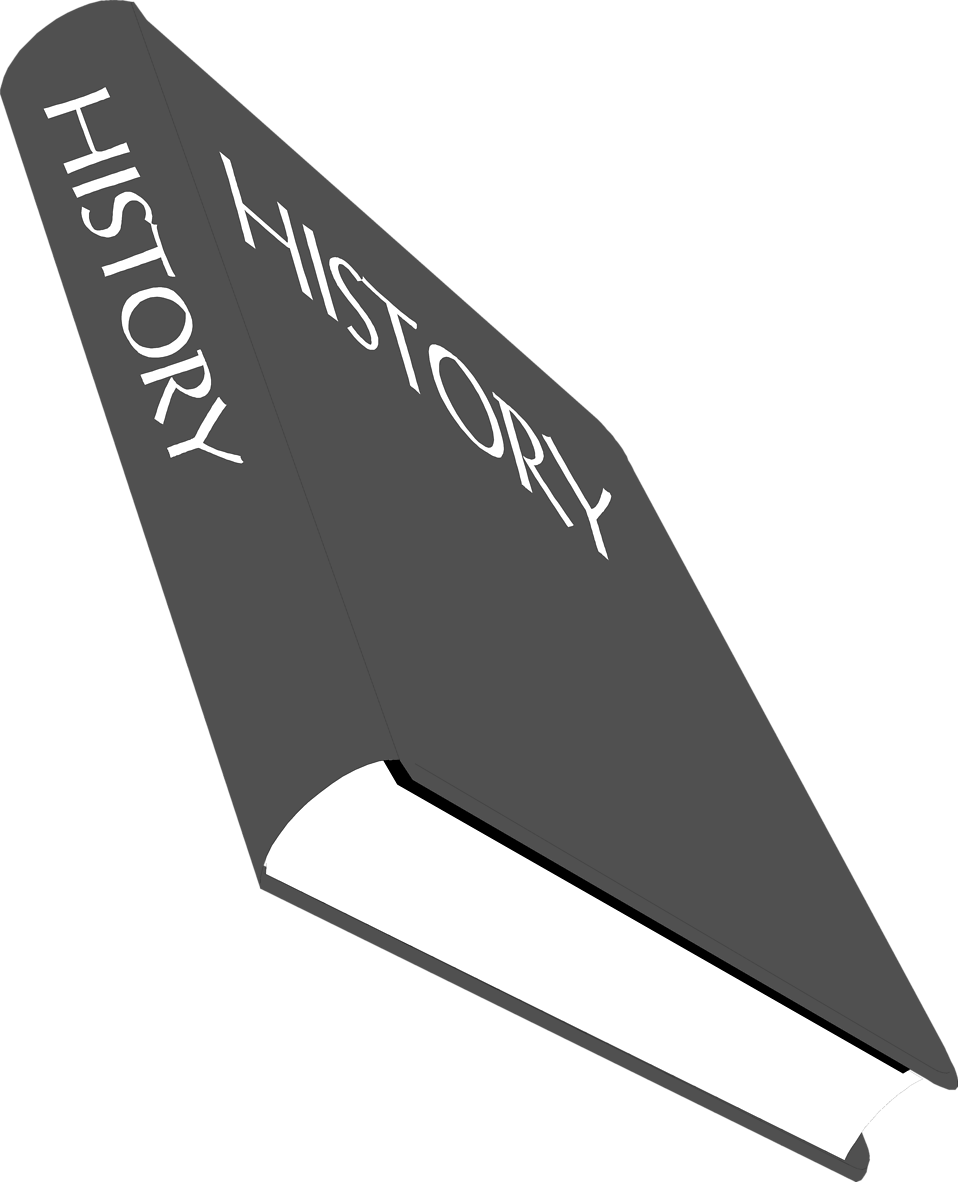 Illustration of a history textbook : Free Stock Photo
