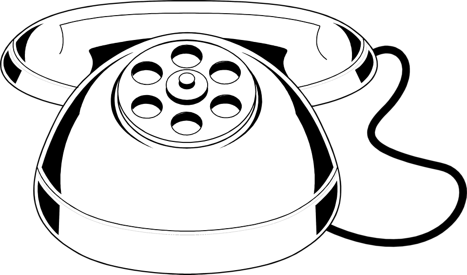 Illustration of a toy telephone : Free Stock Photo