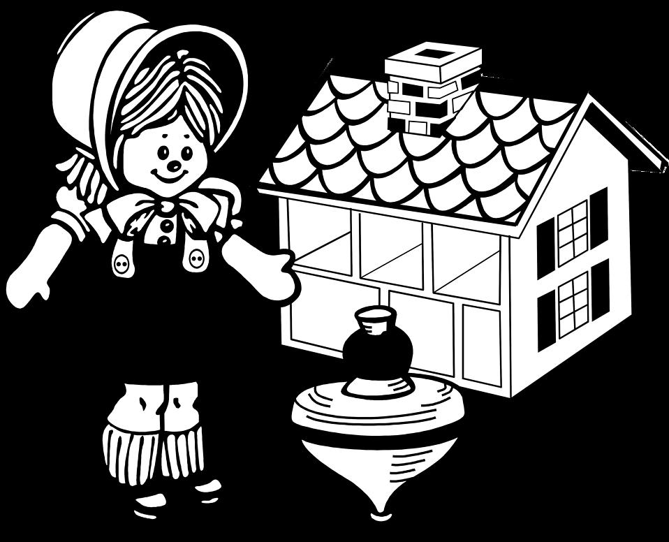 Illustration of various toys : Free Stock Photo