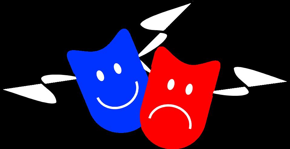 Illustration of drama masks : Free Stock Photo