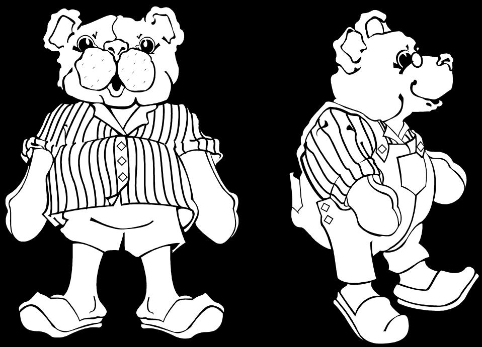 Illustration of teddy bears : Free Stock Photo
