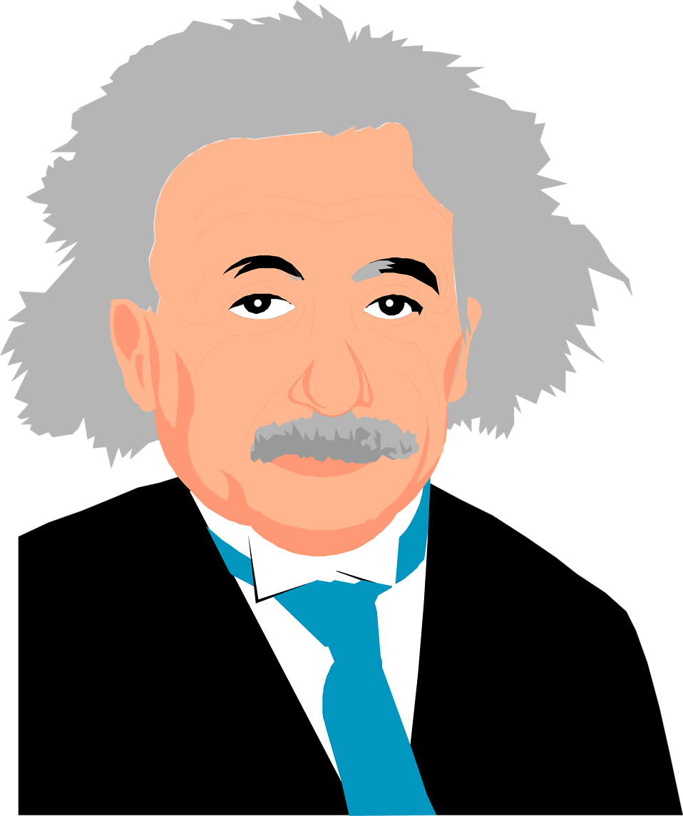 Albert Einstein | Free Stock Photo | Illustration of Albert Einstein ...