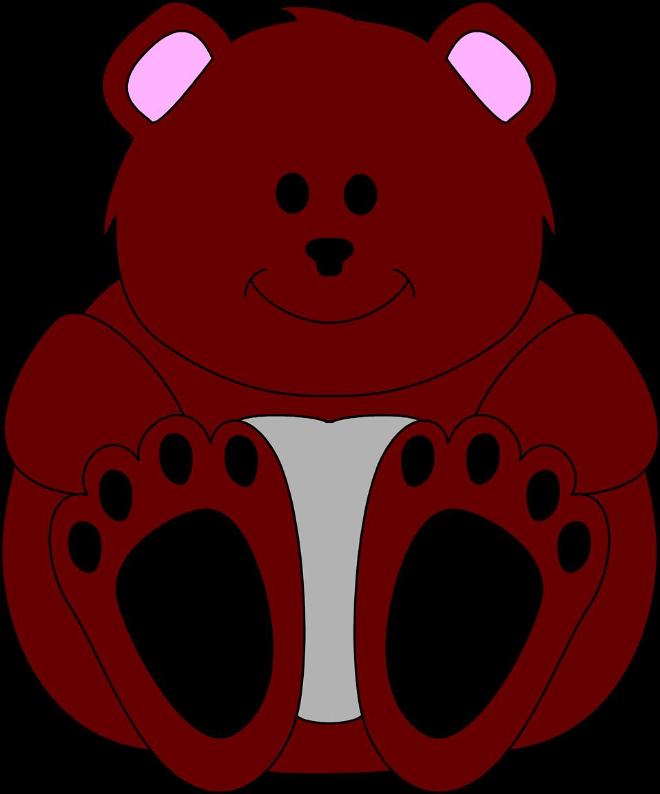 Illustration of a teddy bear : Free Stock Photo