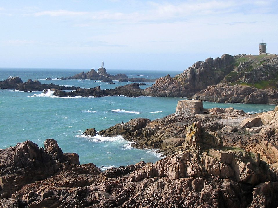 A rocky coast landscape : Free Stock Photo