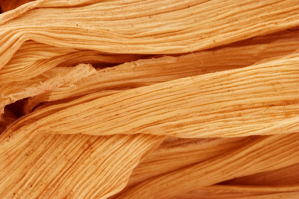 Close-up of a dried corn husk : Free Stock Photo