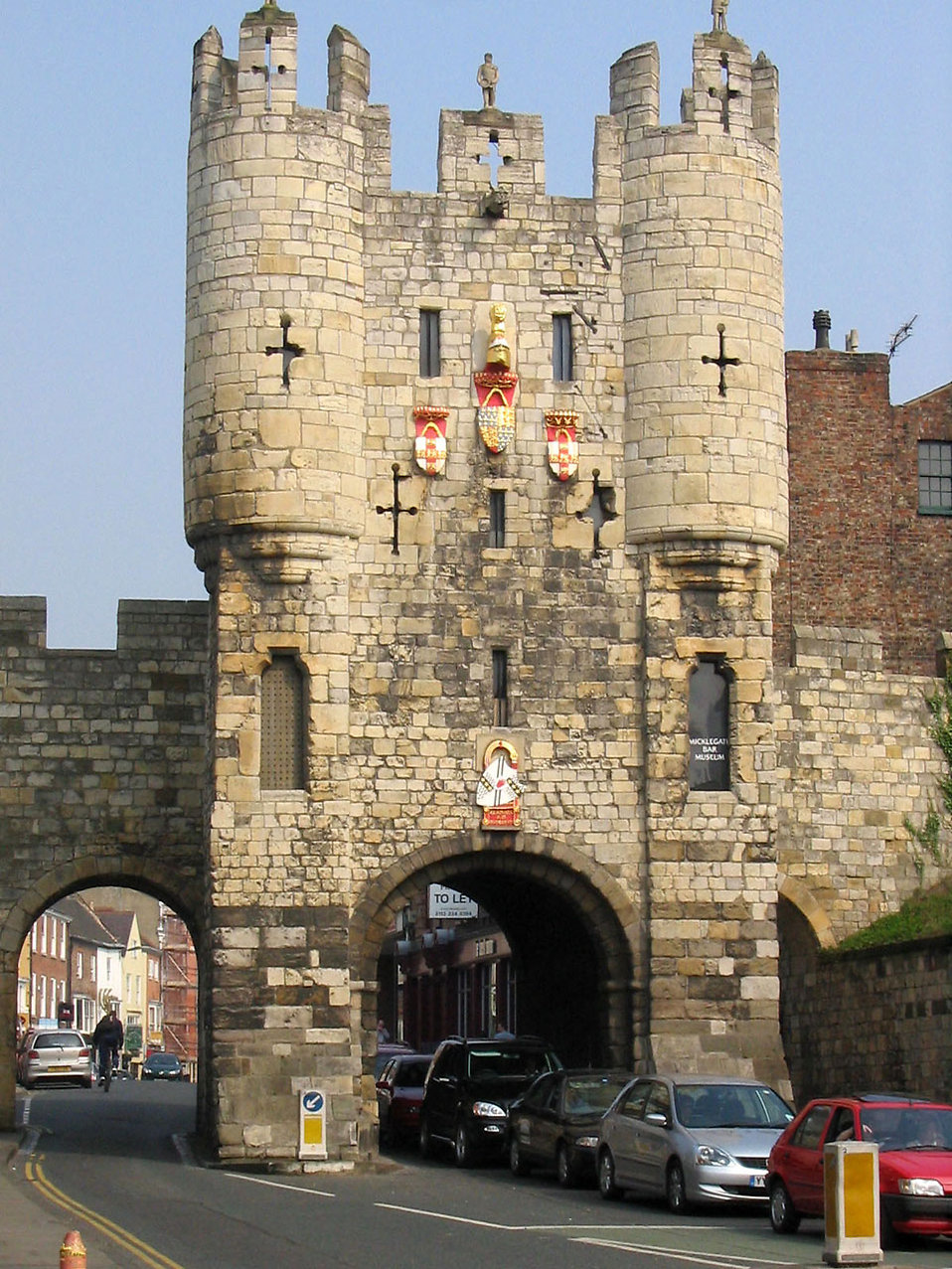 City Gate in York : Free Stock Photo
