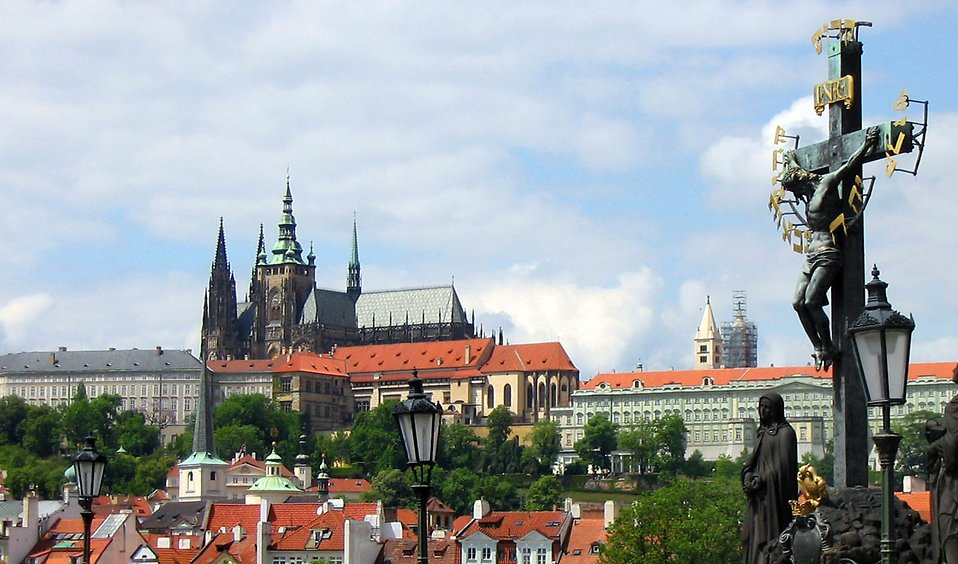 A castle in Prague : Free Stock Photo