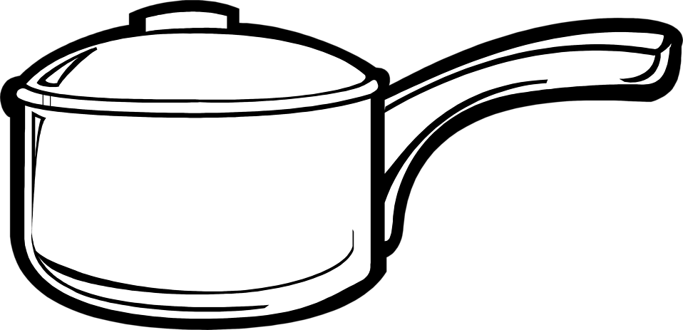 Illustration of a cooking pot : Free Stock Photo