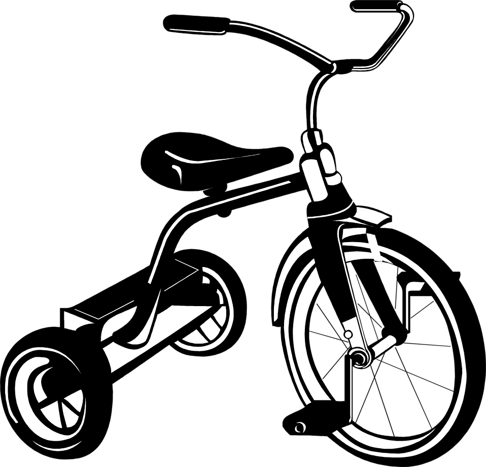 Illustration of a tricycle : Free Stock Photo