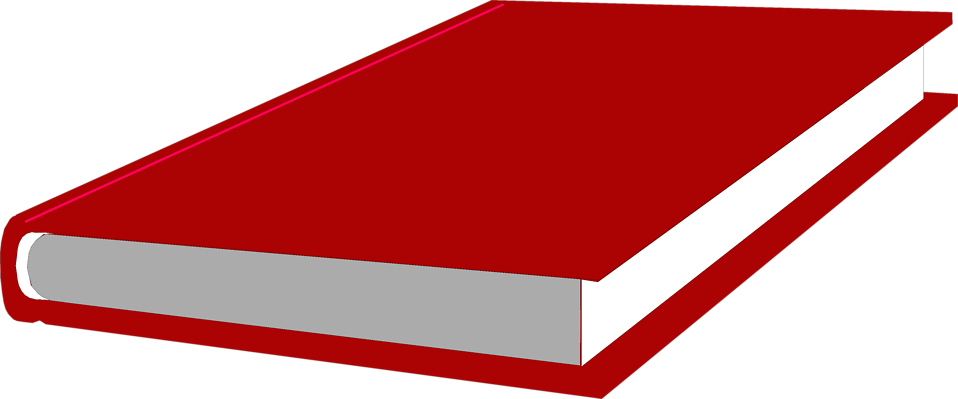 Illustration of a red book : Free Stock Photo