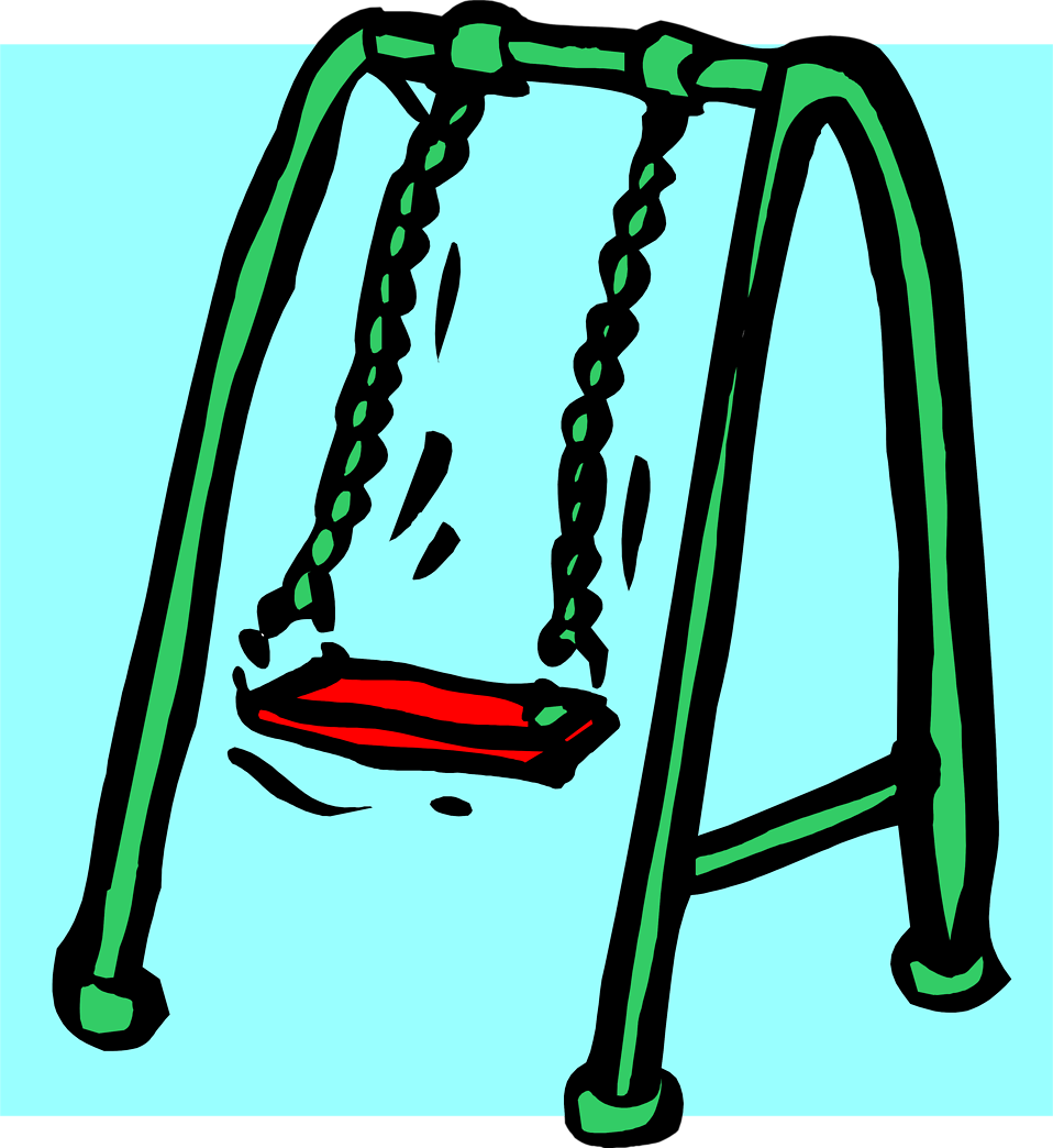Illustration of a swing set : Free Stock Photo