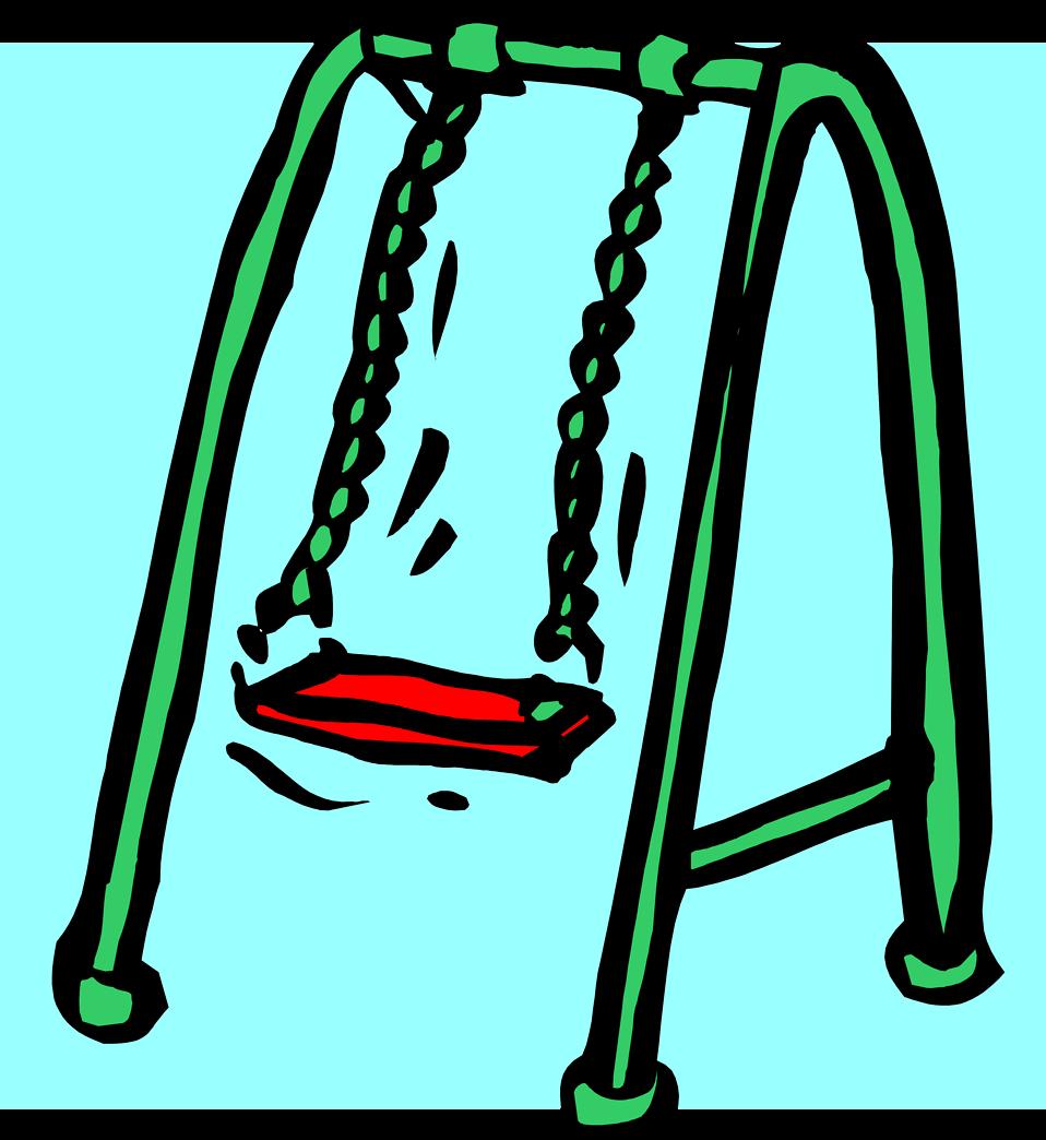 Swings free stock photo illustration of a swing set