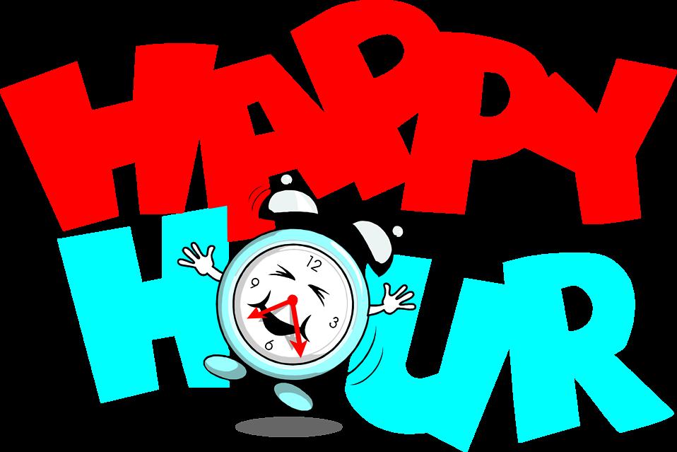 happy hour buttonclip art