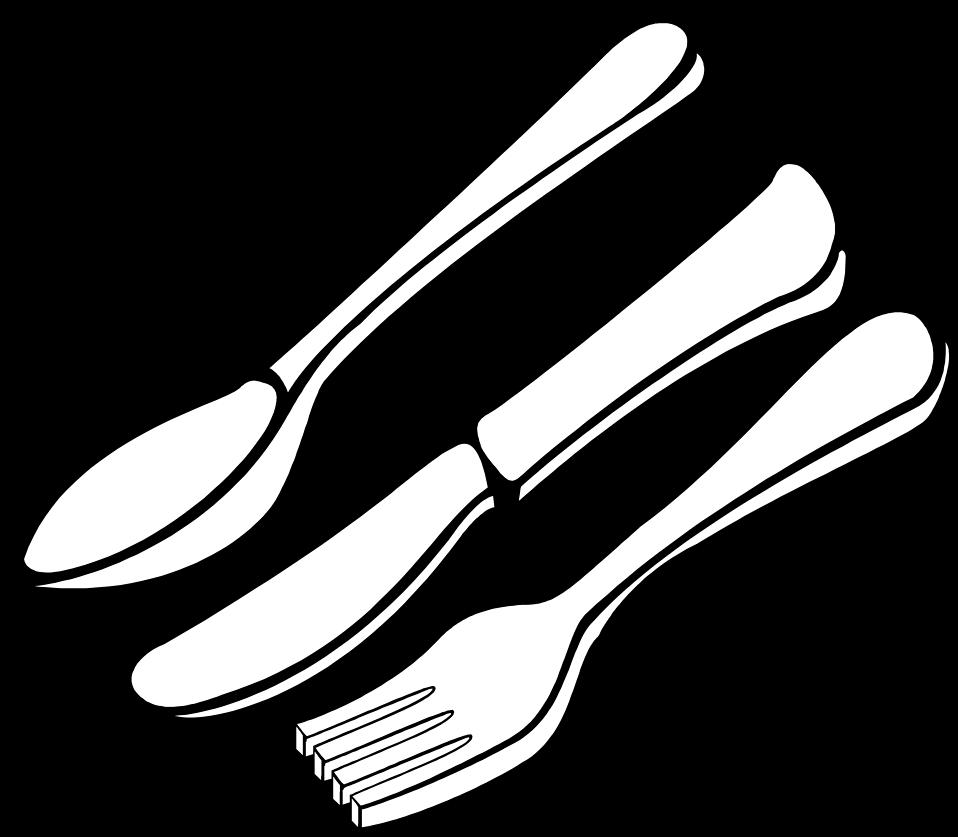 Illustration of silverware : Free Stock Photo