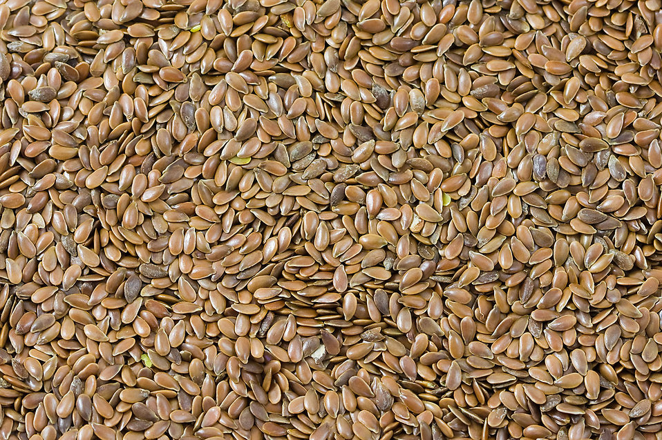 Linen seeds : Free Stock Photo