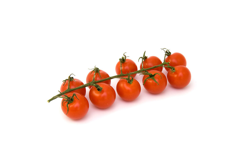 Tomatoes isolated on a white background : Free Stock Photo