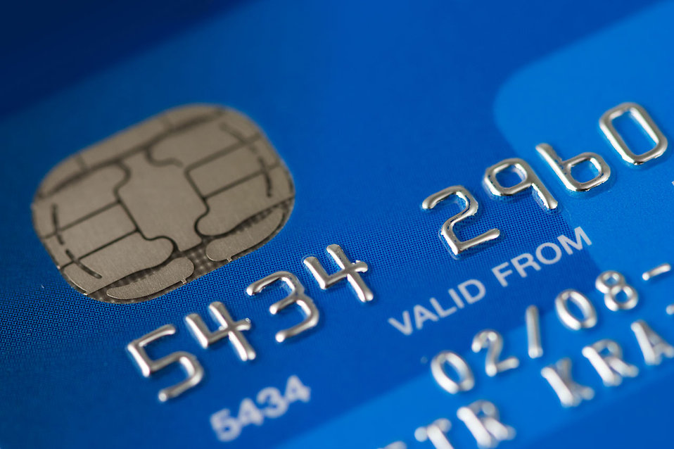 Close-up of a credit card : Free Stock Photo