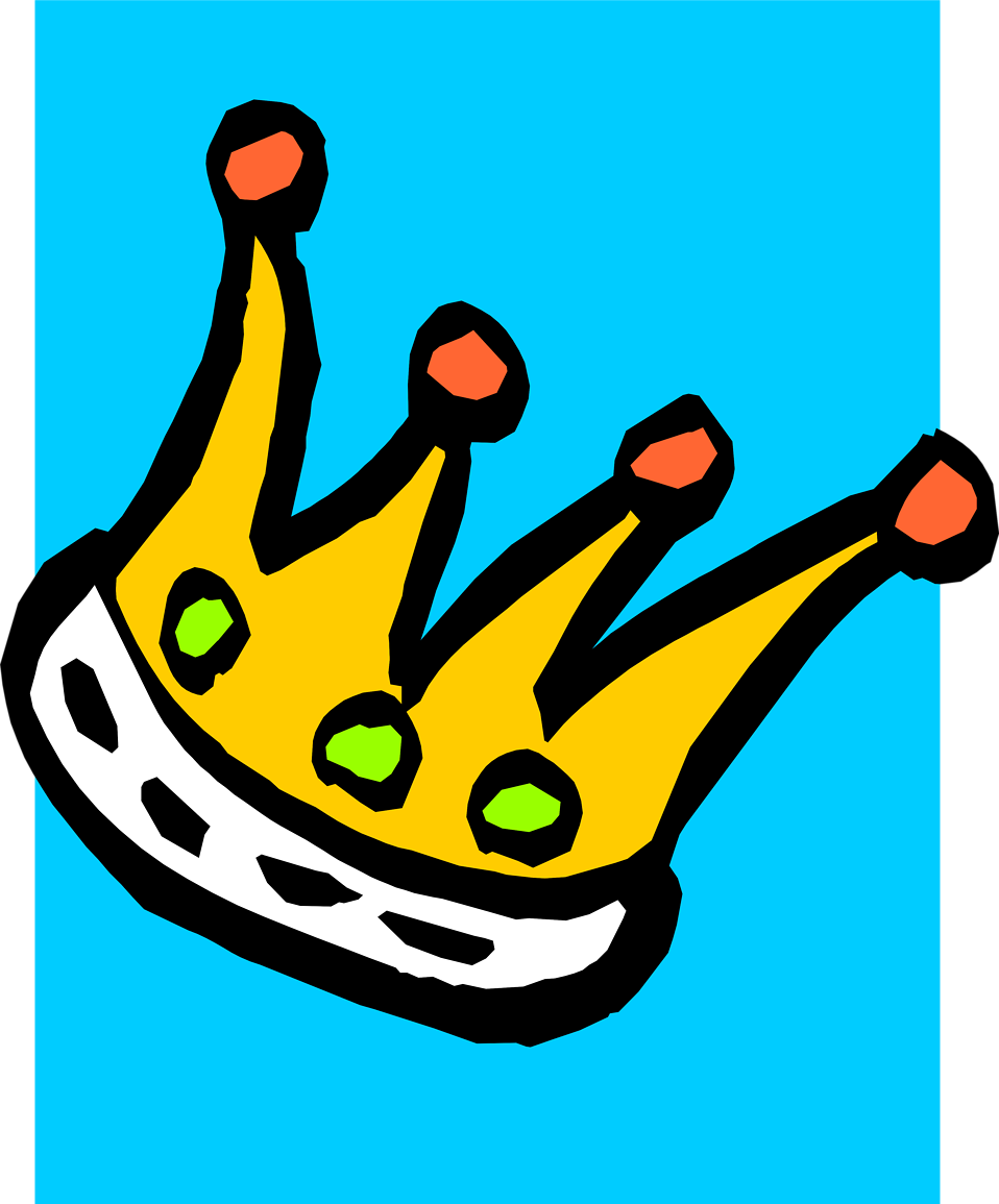 Illustration of a crown : Free Stock Photo