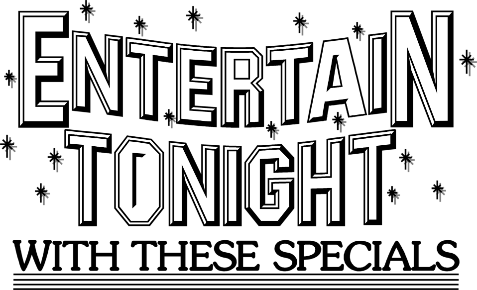 Illustration of entertain tonight sales text : Free Stock Photo